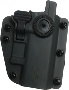 Holster SWISS ARMS ADAPT-X Ambidextre Universel (Glock, Colt 1911, Beretta...) - Gris