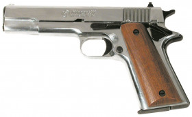PISTOLET À BLANC COLT 1911 9MM CHROME