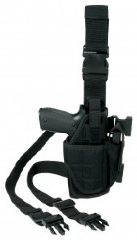 Holster cuisse mod one Ripstop Noir droitier