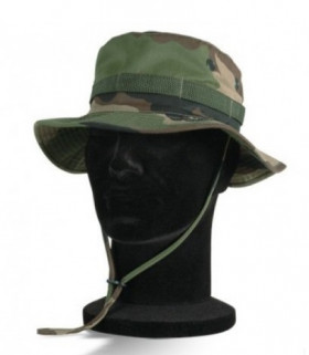 Chapeau jungle militaire camouflage