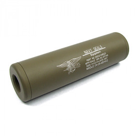 Silencieux Navy Seals Universel 110x30mm TAN