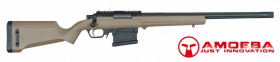 "REPLIQUE AMOEBA ""STRIKER"" S1 SNIPER RIFLE - Dark earth coyote"