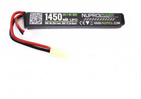 LIPO NUPROL 1450MAH 7.4V 30C 1 ELEMENT