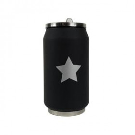 Canette isotherme Black Star 280 ml