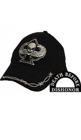 Casquette DEATH BEFORE DISHONOR