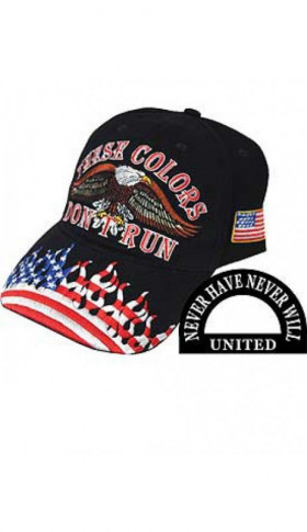 "Casquette brodé ""These colors don't run"""