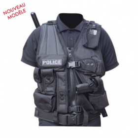 Gilet tactique force d'intervention Gaucher