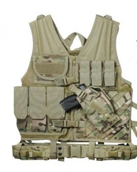 Gilet warrior multicam