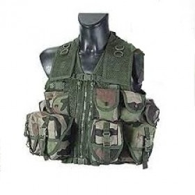 Gilet tactical GT2 cam surplus militaire