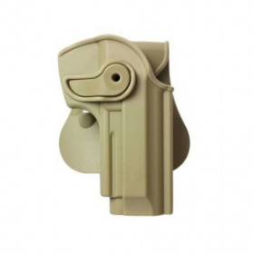 Holster rigide IMI Beretta 92 / 96 Gaucher Tan