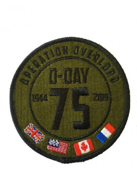 Patch Airborne 75 ans D-DAY