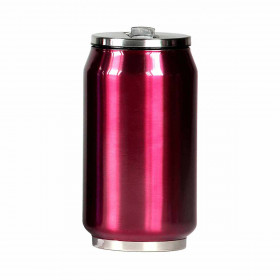 Canette isotherme framboise 280 ml
