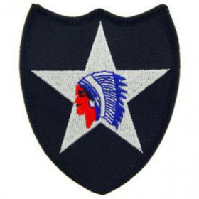 Patch US Army logo 2ND inf div