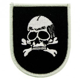 PATCH / ECUSSON Tête de mort thermo collant
