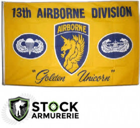 Drapeau 13th airborne us