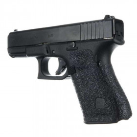 Grip RUBBER Glock 19, 23, 25, 32, 38 (GEN 4) MEDIUM BACKSTRAP - Noir