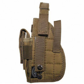 Holster fixation molle droitier Tan