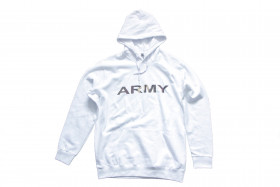 Sweat Shirt Army unisexe Blanc