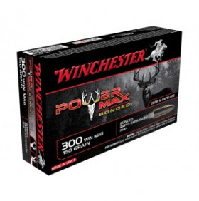 Balles - Winchester - 300WM - Power Max Bonded - 150G - x20