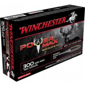 Balles - Winchester - 300WM - Power Max Bonded - 180G - x20